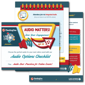 Audio Conferencing Checklist