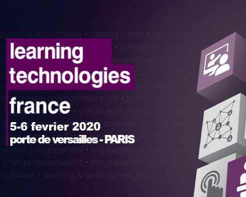 Le Learning Technologies France 2020 ouvre ses portes ces 5 et 6 février à la Porte de Versailles - Paris. MeetingOne France vous accueillera sur le stand G92