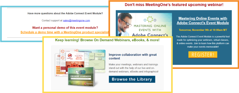 webinar thank you email