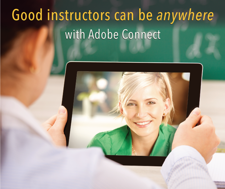 Teaching using Adobe Connect