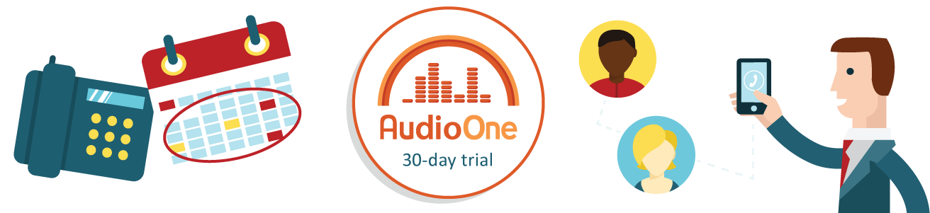 AudioOne Conference Call Trial