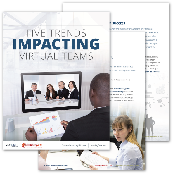 Five trends impacting virtual teams ebook display