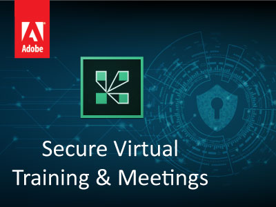 secure virtual training and meetings
