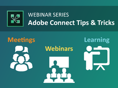 LIVE Adobe Connect Webinars from MeetingOne