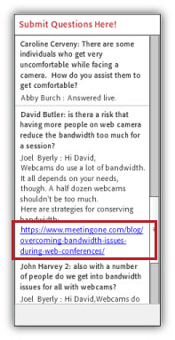 on demand adobe connect recordings - live links