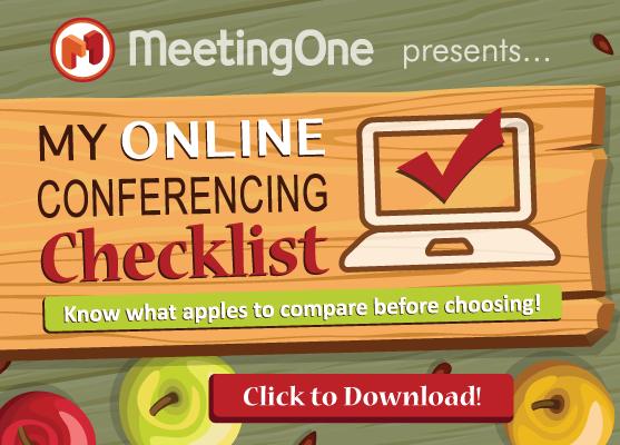Online Conferencing Checklist