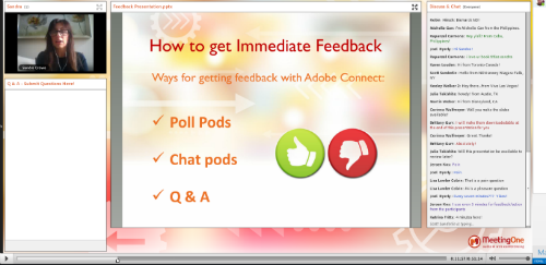 Feedback helps you balance online training content