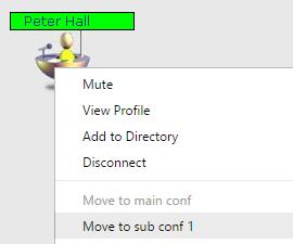 Webinar checklist sub-conference room