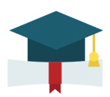 graduation cap and diploma - education conferencing solutions