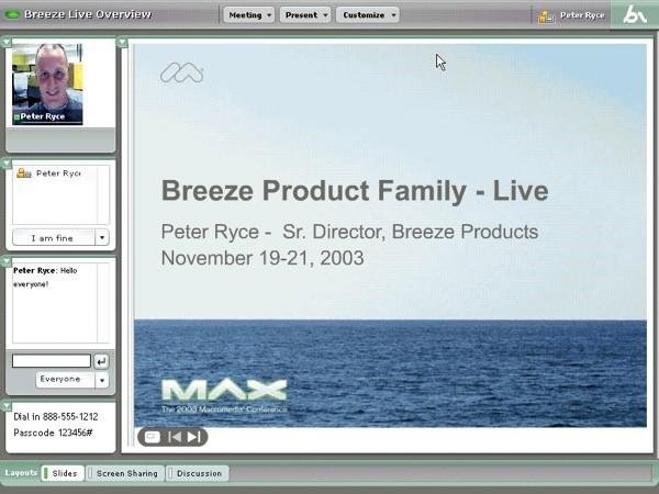 Breeze Screenshot