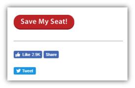 webinar marketing - social share buttons