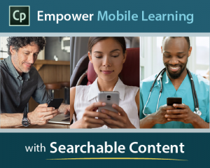 empower mobile learning with searchable content