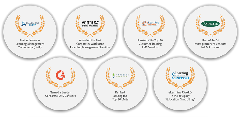 Adobe Captivate Prime Best LMS Award