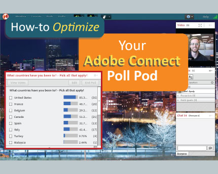 optimize your adobe connect poll pod