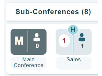 sub-conference rooms