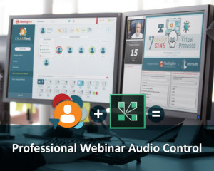 use click&Meet to put on better adobe connect webinars