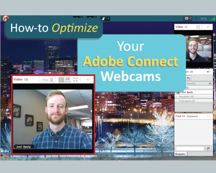 top tips for optimizing your adobe connect webcams