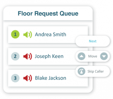 Audio Q&A for Adobe Connect webinars