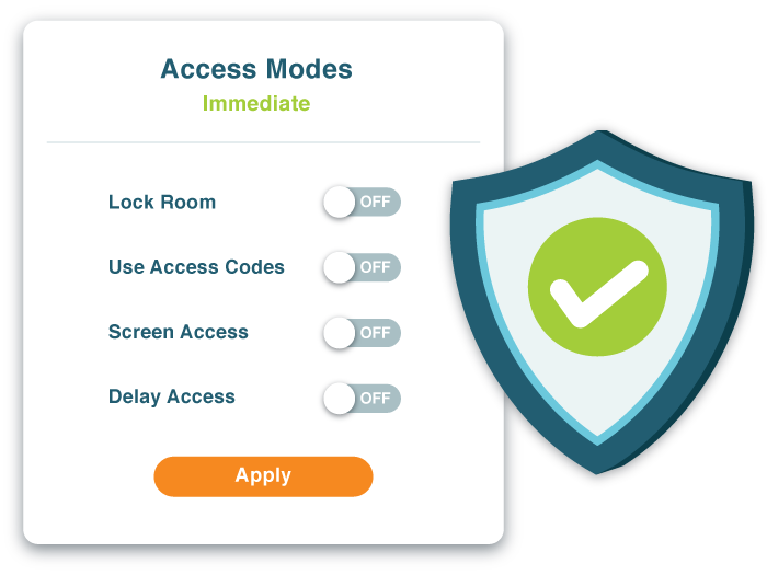 Secure Conference Calls with Call Access Mode Control