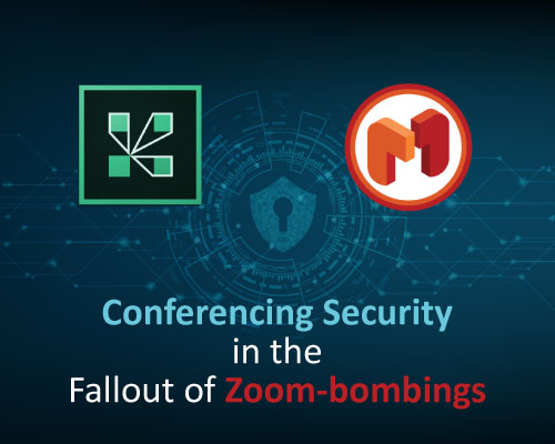 conferencing security in the fallout of Zoom-bombings